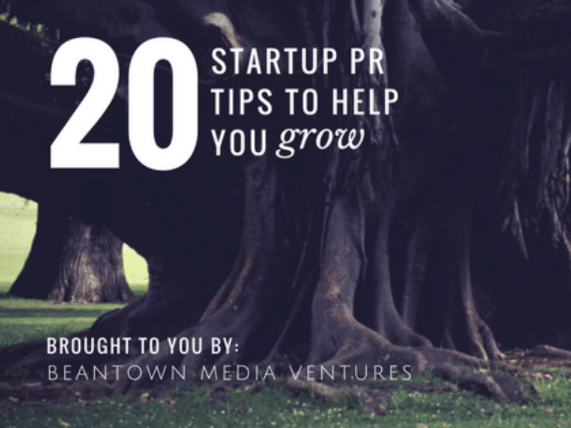 Startup PR Tips for Growth Feature