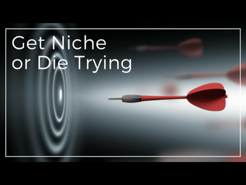 Be Niche in Startup Marketing