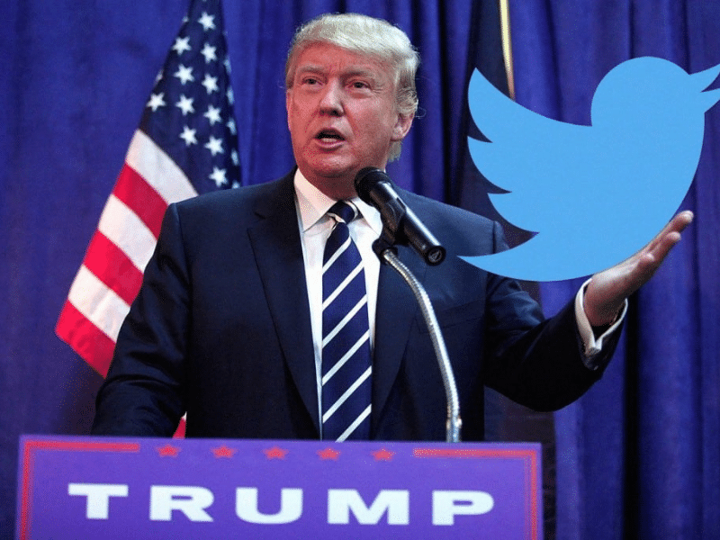 Donald Trump Twitter Feature