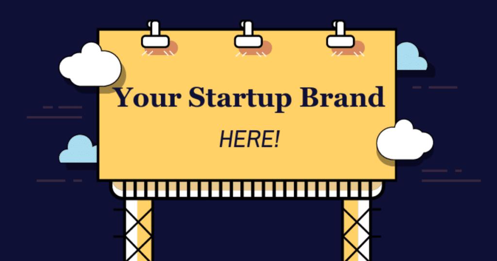 Startup Brand Advantages Header